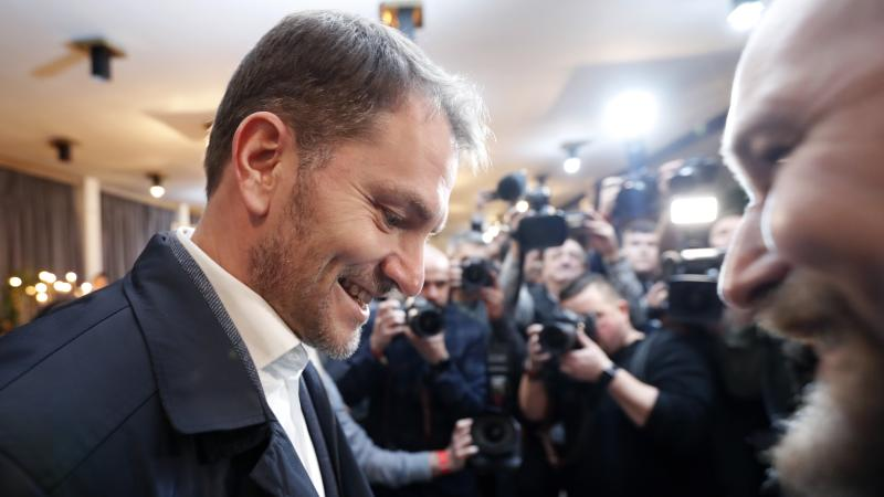 Slovakian opposition party 'on course to win election'