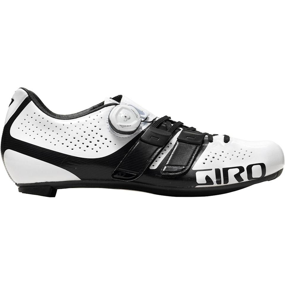 """<p><strong>Giro</strong></p><p>backcountry.com</p><p><strong>$104.97</strong></p><p><a href=""""https://go.redirectingat.com?id=74968X1596630&url=https%3A%2F%2Fwww.backcountry.com%2Fgiro-factress-tech-lace-shoe-womens&sref=https%3A%2F%2Fwww.bicycling.com%2Fbikes-gear%2Fg36887934%2F4th-of-july-sales-on-cycling-gear%2F"""" rel=""""nofollow noopener"""" target=""""_blank"""" data-ylk=""""slk:Shop Now"""" class=""""link rapid-noclick-resp"""">Shop Now</a></p><p>Save up to 70% on these women's road-race cycling shoes. The microfiber material makes them really breathable, and they feature a minimalist design. </p>"""
