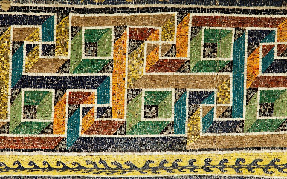 This is a city of mosaics - Getty