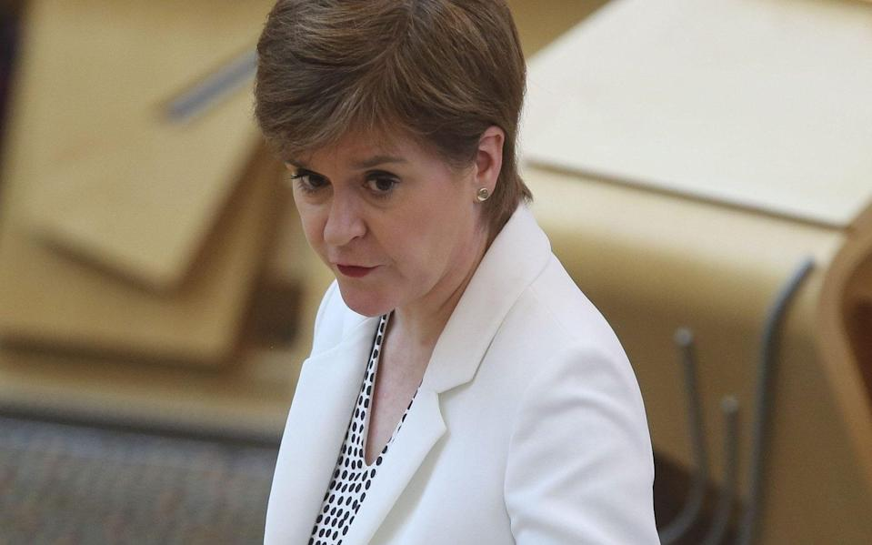 """Sturgeon warns of """"danger"""" as she confirms mass easing of lockdown restrictions - WPA Pool/Getty"""