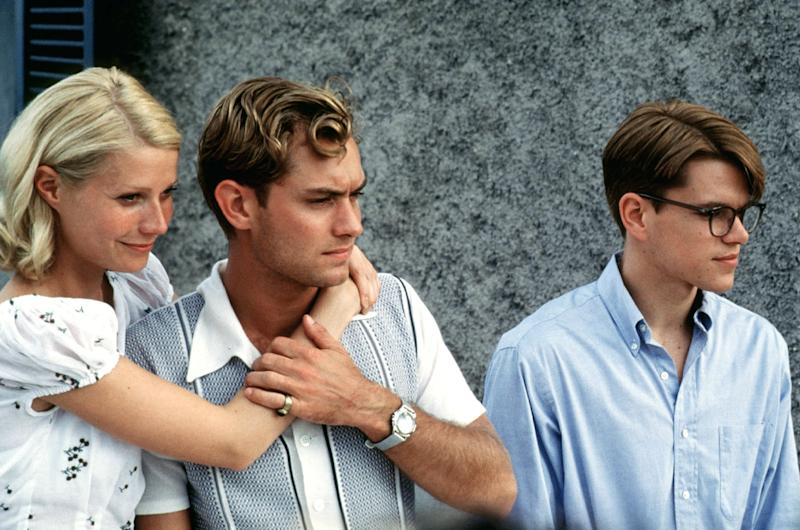 "Gwyneth Paltrow, Jude Law and Matt Damon in ""The Talented Mr. Ripley."" (STR New / Reuters)"