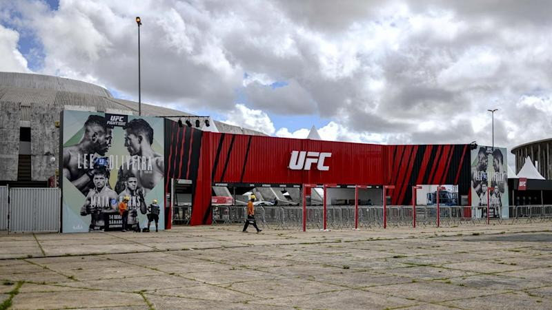 The UFC Fight Night in Brasilia went ahead on Saturday with no fans in attendance