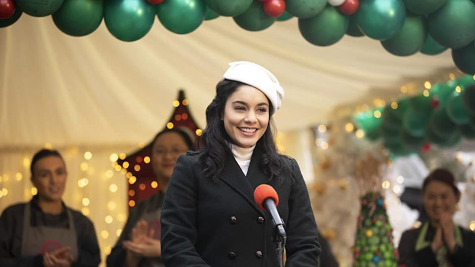 Vanessa Hudgens in The Princess Switch: Switched Again