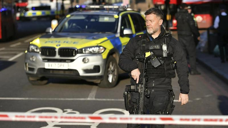 Two have been killed in a stabbing rampage in London, with police treating it as a terror attack