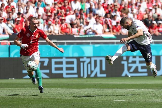 Karim Benzema wasted a glorious chance for France in the first half