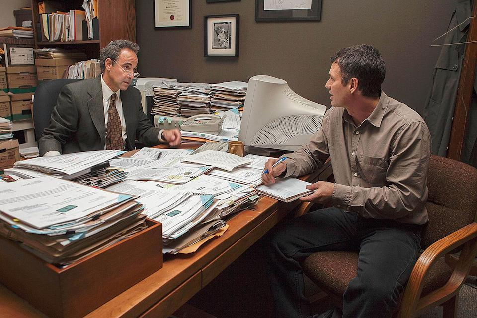 <p>He's not in the film for very long, but Tucci does what Tucci does best: stand out. He plays Mitchel Garbedian, an attorney who lets his conscience be his guide, telling Mark Ruffalo's character about the abuse occurring within the Catholic Church. </p>