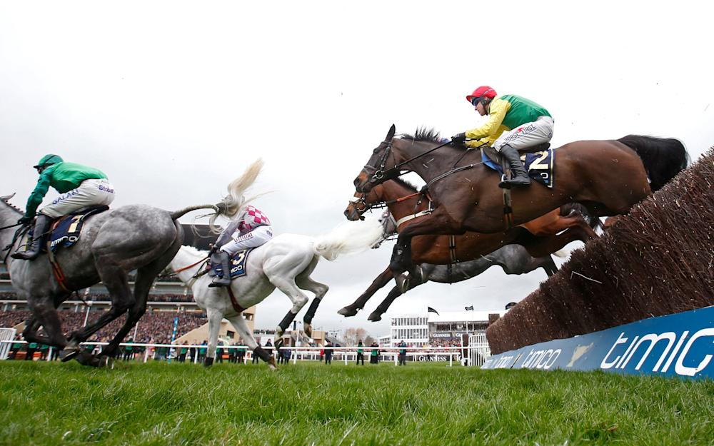 Sizing John on his way to scooping the Gold Cup