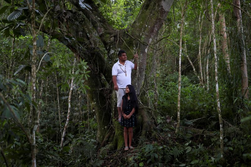 The Wider Image: Brazil's indigenous rights hinge on one tribe's legal battle