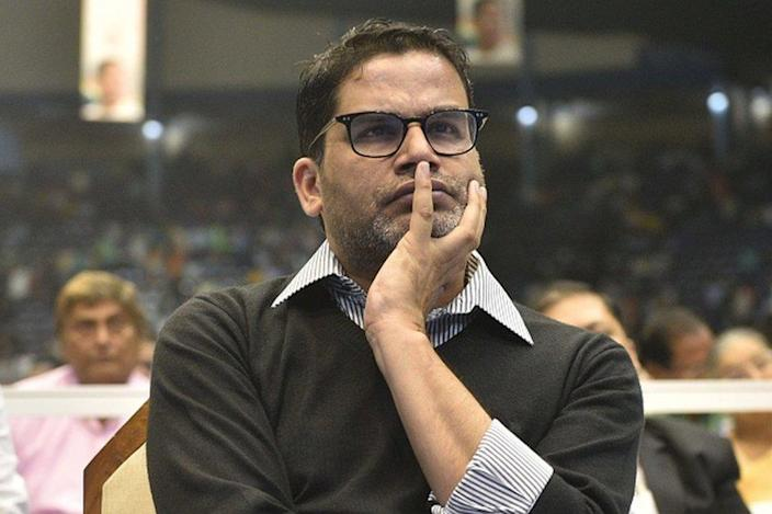 Poll strategist Prashant Kishore during the launch of upcoming Municipality Election campaign 'Banglar Garbo Mamata' by Chief Minister of West Bengal and Trinamool Congress (TMC) Supremo Mamata Banerjee at Netaji Indoor Stadium in presence of TMC MLAs and councillors on March 2, 2020 in Kolkata,