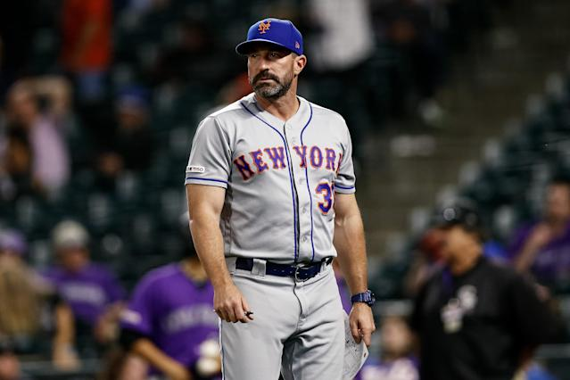 Mickey Callaway is on the hot seat as Mets manager. (Isaiah J. Downing-USA TODAY Sports)