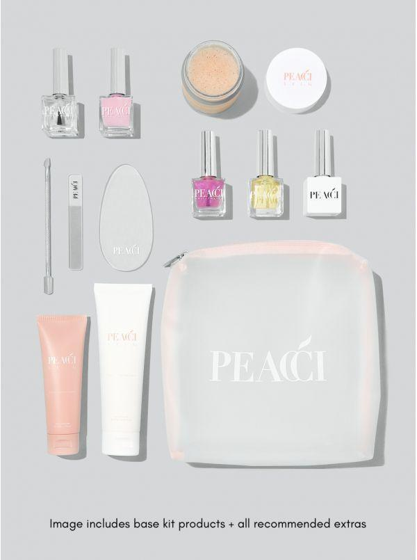 """<p><a class=""""link rapid-noclick-resp"""" href=""""https://peacci.com/products/321-nail-treatment-kit.html"""" rel=""""nofollow noopener"""" target=""""_blank"""" data-ylk=""""slk:SHOP NOW"""">SHOP NOW</a></p><p>Peacci are famous for having every nail colour you could possibly want under the rainbow, but their nail care kits are what's saving our hands this Christmas. Say goodbye to brittle, breakable nails with this treatment kit that has everything you need on your quest to becoming a hand model. </p>"""