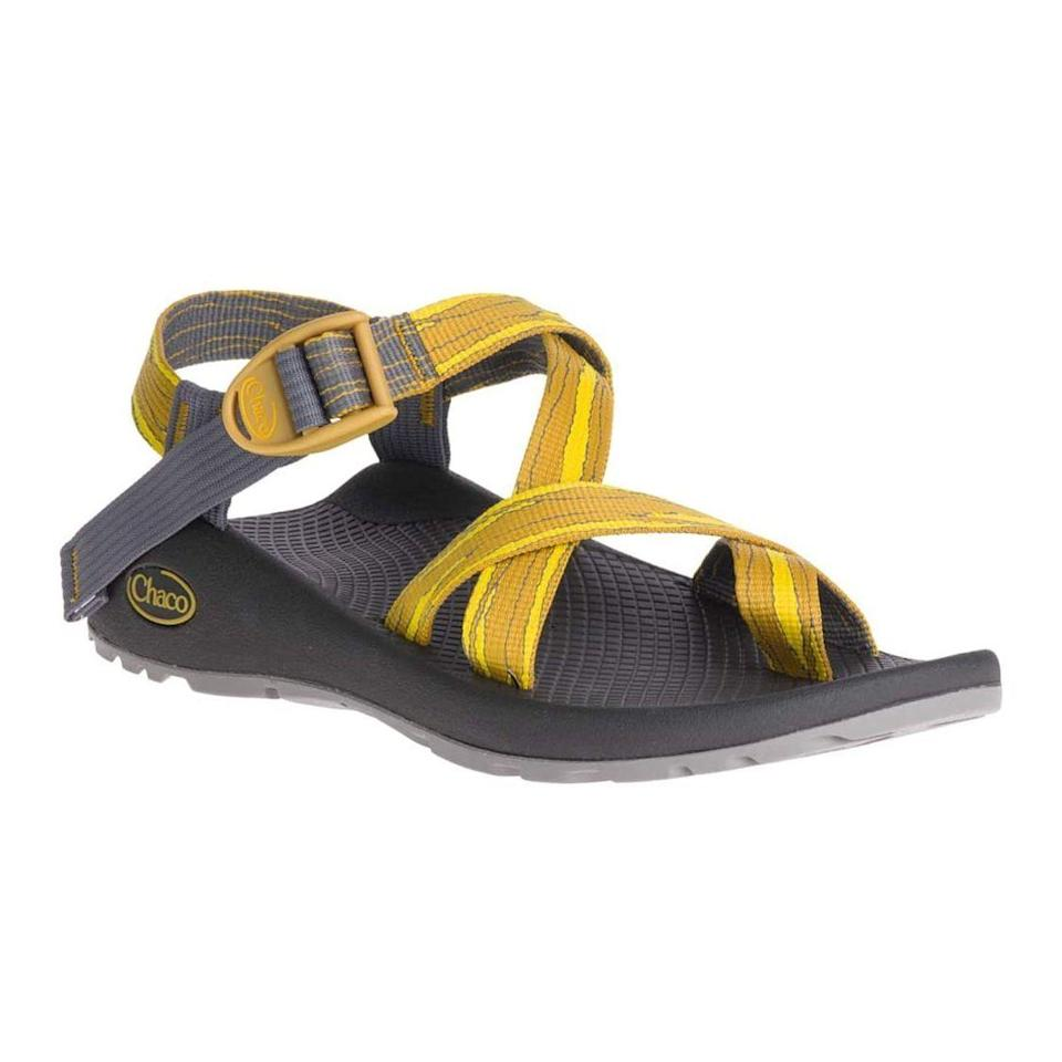 "<p><strong>Chaco</strong></p><p>amazon.com</p><p><strong>$99.95</strong></p><p><a href=""https://www.amazon.com/dp/B07ZPN6DKR?tag=syn-yahoo-20&ascsubtag=%5Bartid%7C2141.g.19791835%5Bsrc%7Cyahoo-us"" rel=""nofollow noopener"" target=""_blank"" data-ylk=""slk:Shop Now"" class=""link rapid-noclick-resp"">Shop Now</a></p><p>Not into heavy boots during the summer? These cult-favorite sandals offer freedom <a href=""https://www.prevention.com/fitness/workout-clothes-gear/g35539534/best-walking-gear/"" rel=""nofollow noopener"" target=""_blank"" data-ylk=""slk:during trail walks"" class=""link rapid-noclick-resp"">during trail walks</a> and hikes. Truly adjustable straps allow you to customize the fit, while the extra toe loop keeps them securely attached to your feet. Serious hikers will be impressed by their contoured, arched footbed and serious tread. Although they feel a bit heavy at first, they're the real deal—they're <strong>strong enough to last for years to come</strong>. </p>"
