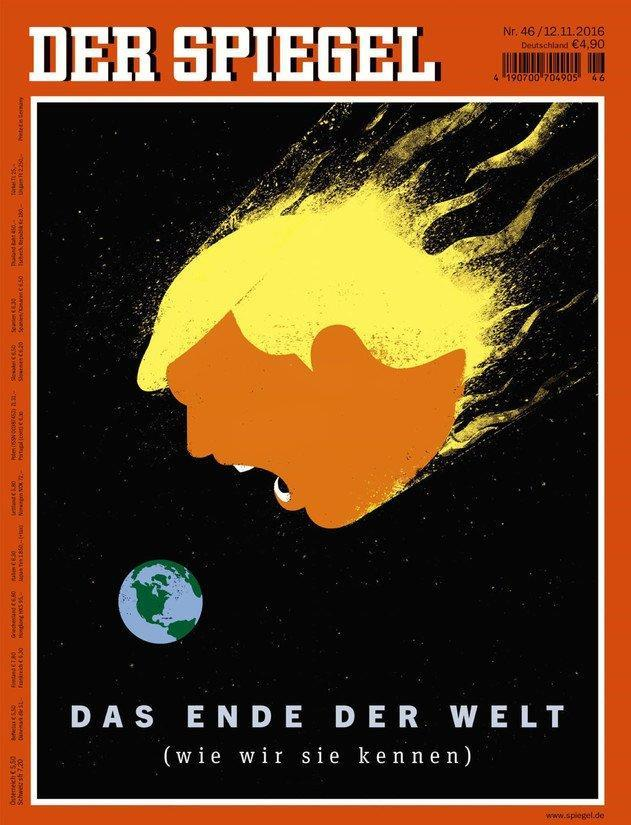 "<p>""Der Spiegel,"" published in Germany. (Newseum) </p>"
