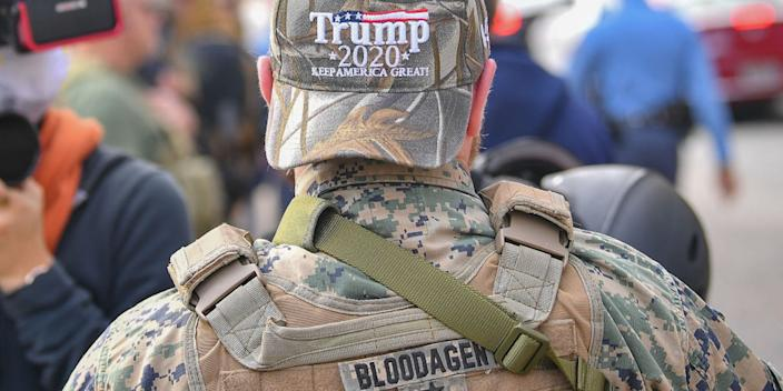 Trump S Talk Of Martial Law Could Be Taken By Far Right Groups As A Violent Call To Action Former Dhs Official Says