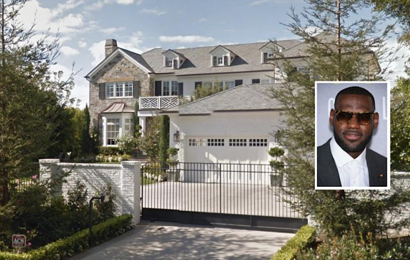 LeBron James Snags 21M LA Mansion As His Hollywood Habit Grows