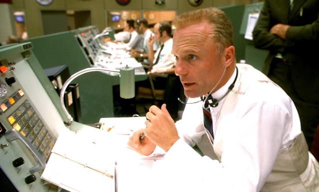 "Ed Harris portraying NASA flight director Gene Kranz in <i> Apollo 13</i>. He never met Kranz, but his performance did inspire Kranz to title his memoir after one of his lines, ""Failure is not an option."" (Photo: Universal/Courtesy of Everett Collection)"