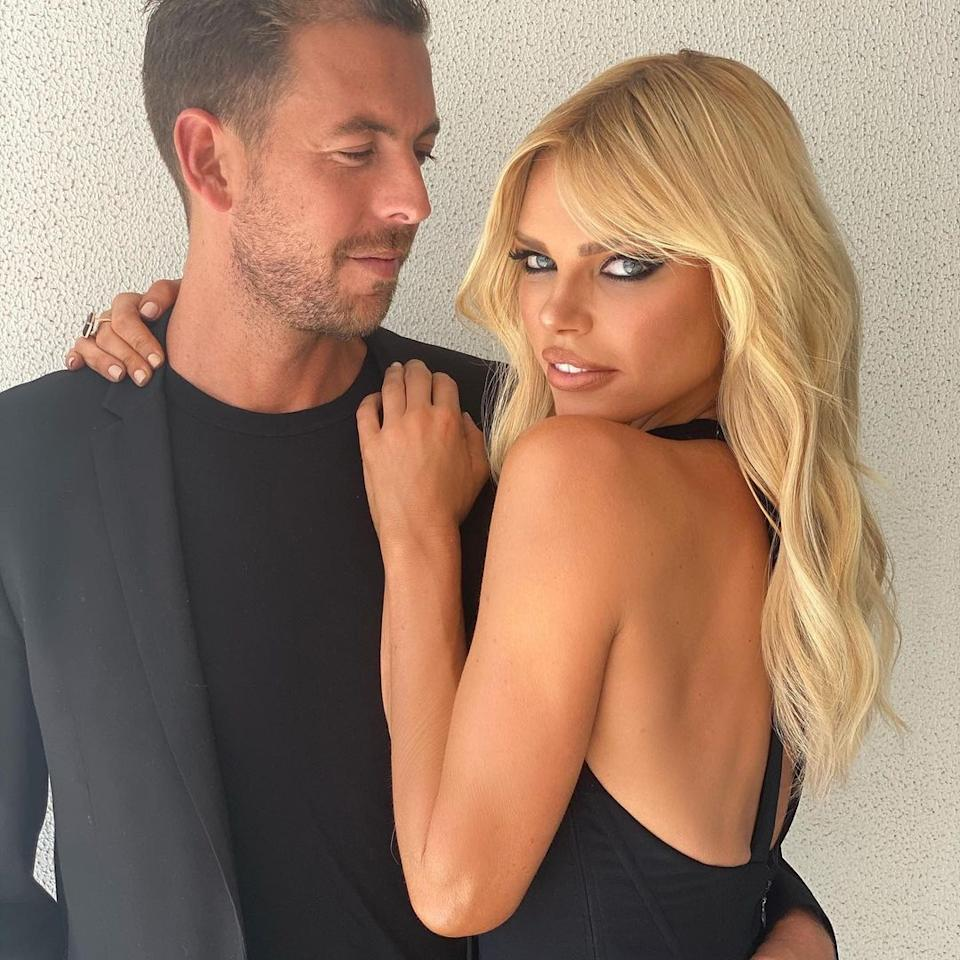 Sophie Monk and Joshua Gross dressed up
