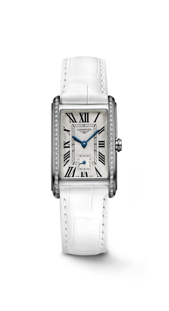 "<p><a class=""link rapid-noclick-resp"" href=""https://www.longines.com/en-gb/watch-longines-dolcevita-l5-255-4-71-2"" rel=""nofollow noopener"" target=""_blank"" data-ylk=""slk:SHOP NOW"">SHOP NOW</a></p><p>Inspired by a vintage watch model from the 1920s, Longines' Dolce Vita features the clean, angular lines of Art Deco. </p><p>This year's iteration has a segmented dial, another nod to 1920s styling, as well as an interchangeable leather strap, which can be swapped out for a variety of different hues, including navy blue and soft gold. </p><p>Dolce Vita watch, from £1,100, <a href=""https://www.longines.com/en-gb/watch-longines-dolcevita-l5-255-4-71-2"" rel=""nofollow noopener"" target=""_blank"" data-ylk=""slk:Longines"" class=""link rapid-noclick-resp"">Longines</a></p>"