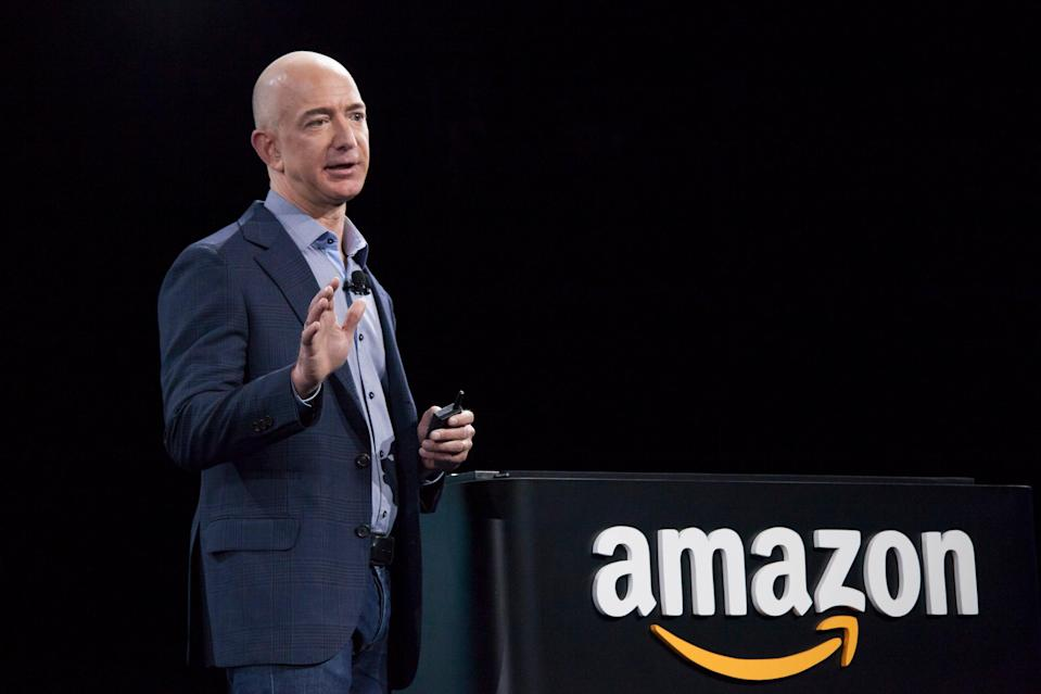 <p>Amazon chief executive Jeff Bezos has been urged to pay the company's workers better and protect the environment</p> (Getty Images)