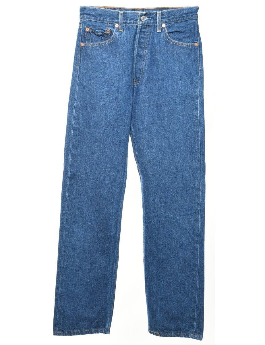 <p>Beyond Retro seems to have an endless stock of Levi's 501s, like this <span>straight-leg pair in Indigo</span> ($54), which works for any gender.</p>