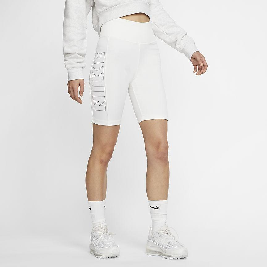 "<p>We love everything about these <a href=""https://www.popsugar.com/buy/Nike-Air-Women-Bike-Shorts-580670?p_name=Nike%20Air%20Women%27s%20Bike%20Shorts&retailer=nike.com&pid=580670&price=45&evar1=fit%3Auk&evar9=46472938&evar98=https%3A%2F%2Fwww.popsugar.com%2Ffitness%2Fphoto-gallery%2F46472938%2Fimage%2F47590563%2FNike-Air-Women-Bike-Shorts&list1=shopping%2Cworkout%20clothes%2Cfitness%20gear%2Cproducts%20under%20%2450%2C50%20under%20%2450%2Cfitness%20shopping%2Caffordable%20shopping&prop13=api&pdata=1"" class=""link rapid-noclick-resp"" rel=""nofollow noopener"" target=""_blank"" data-ylk=""slk:Nike Air Women's Bike Shorts"">Nike Air Women's Bike Shorts</a> ($45).</p>"