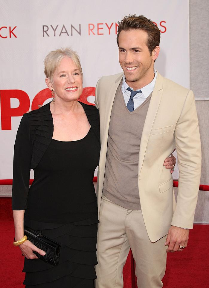 "<a href=""http://movies.yahoo.com/movie/contributor/1800025139"">Ryan Reynolds</a> and guest at the Los Angeles premiere of <a href=""http://movies.yahoo.com/movie/1810012112/info"">The Proposal</a> - 06/01/2009"