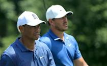 Brooks Koepka and Tiger Woods are the only players to have won the US PGA Championship two years in a row since it became a stroke play event in 1958