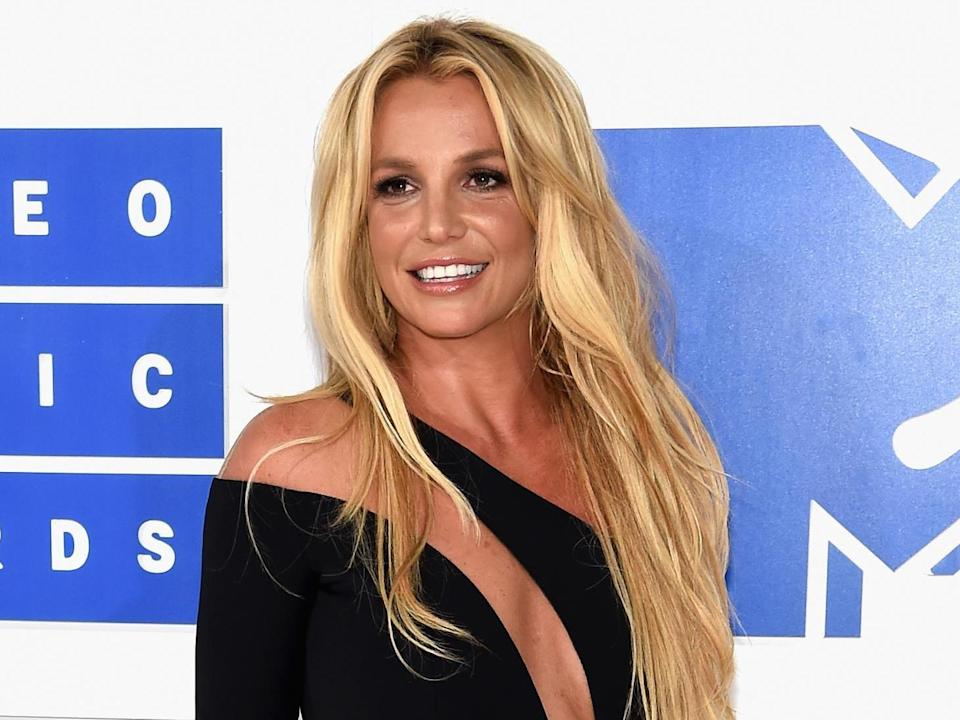 Inherent goodness: Britney Spears attends the MTV Video Music Awards in 2016: Getty