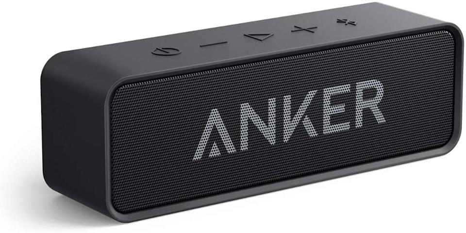 Save 15% on the Anker Soundcore Bluetooth Speaker. Image via Amazon.