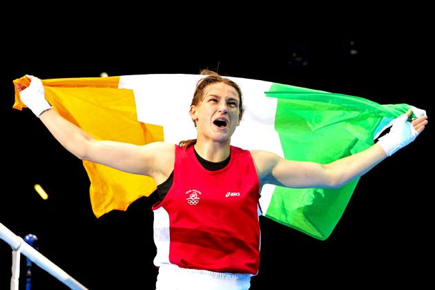 Irish boxer Katie Taylor carries her adoring nation's hopes not only for her unquestioned skill 