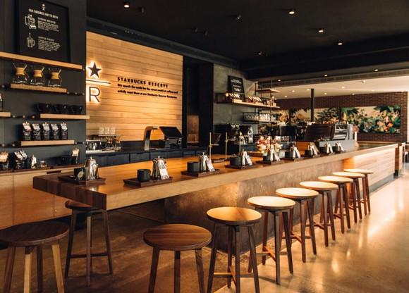 Starbucks Reserve coffee bar