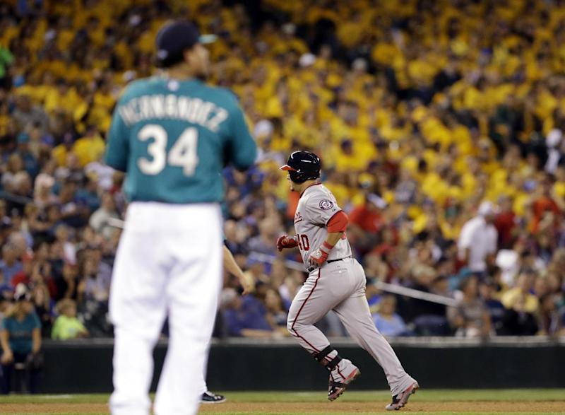 Nationals use long ball to beat Mariners 8-3