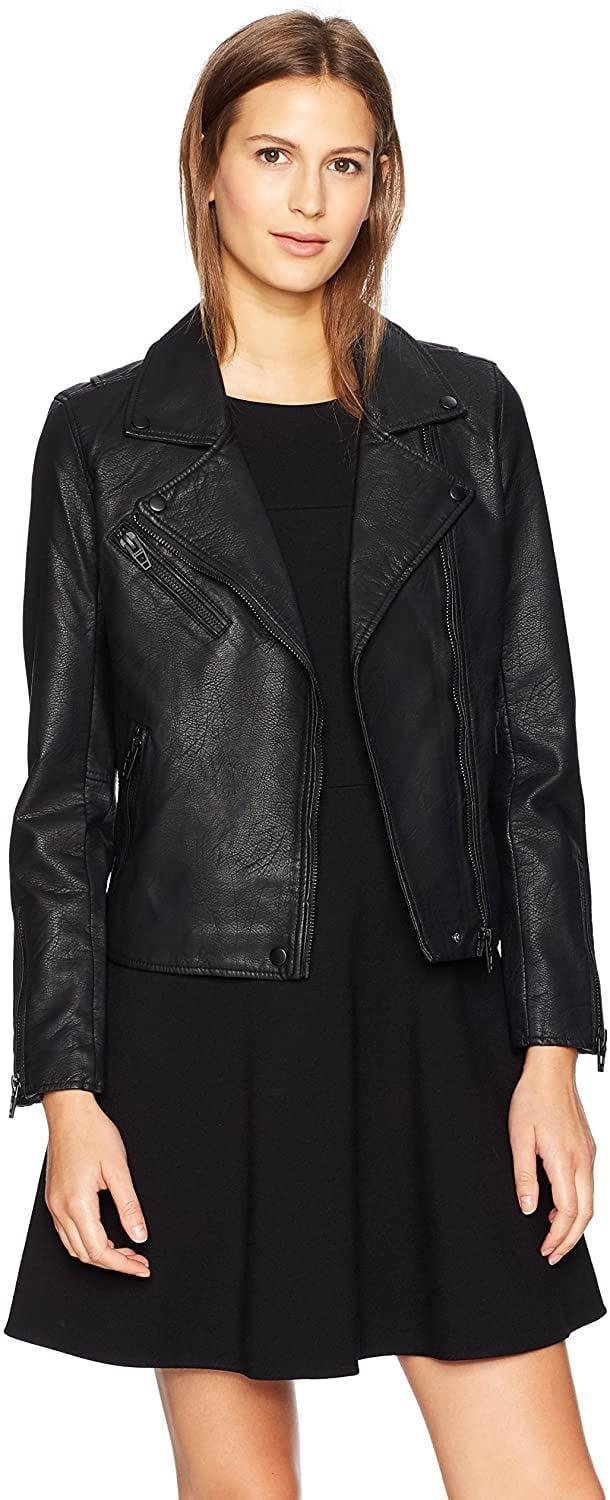 <p>Keep it monochromatic in this <span>BLANK NYC Moto Jacket</span> ($98).</p>
