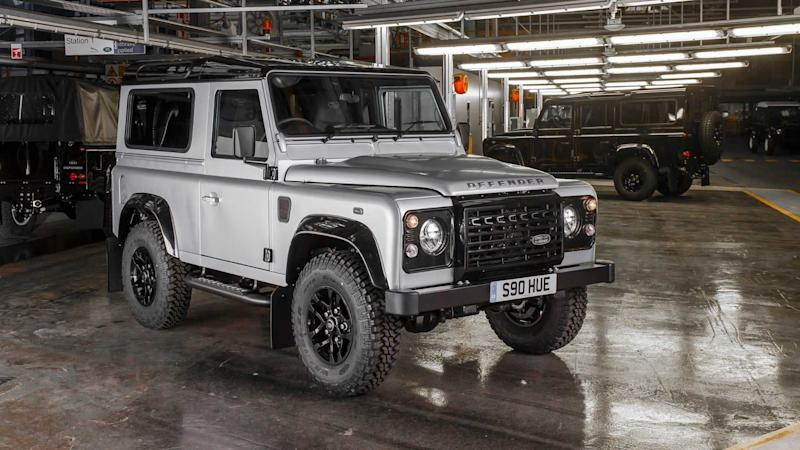 Land Rover Defender 2 millionth in Solihull