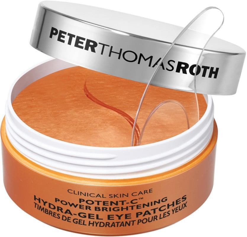<p>Treat your under-eye area to a little TLC with the new <span>Peter Thomas Roth Potent-C Power Brightening Hydra-Gel Eye Patches</span> ($65), infused with vitamin C and caffeine. </p>