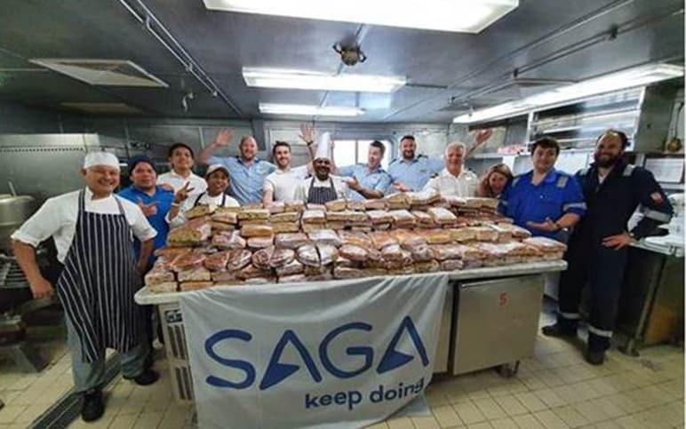 Saga bakers for the NHS
