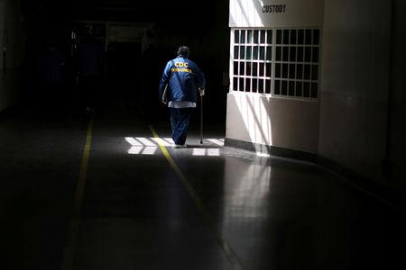 FILE PHOTO: The Wider Image: Caring for California's aging prisoners