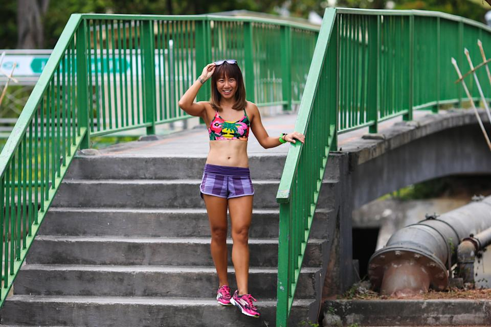 Tammi Lim used to feel incompetent when comparing herself to faster individuals in the multi-sport scene, but has since overcome it by reminding herself how far she has come. (PHOTO: Cheryl Tay)