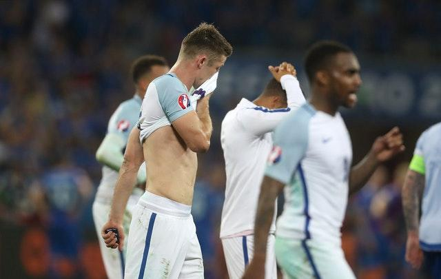 Gary Cahill could not prevent England slipping to a shock defeat.