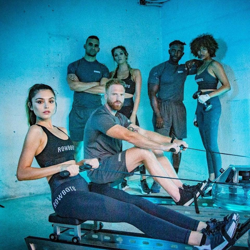 Gareth Bale's mindful rowing gym Rowbots has just opened its shiny new City outpost near Liverpool Street (Rowbots)