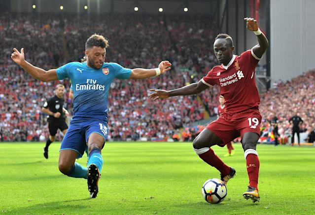 "<a class=""link rapid-noclick-resp"" href=""/soccer/players/alex-oxlade-chamberlain/"" data-ylk=""slk:Alex Oxlade-Chamberlain"">Alex Oxlade-Chamberlain</a> looks set to join <a class=""link rapid-noclick-resp"" href=""/soccer/teams/liverpool/"" data-ylk=""slk:Liverpool"">Liverpool</a>. (Getty)"