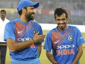'India wins the series but someone else takes the headlines': Rohit Sharma and Yuzvendra Chahal engage in Twitter banter
