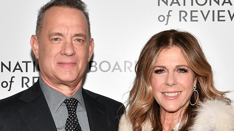 Tom Hanks Rita Wilson infected with coronavirus.