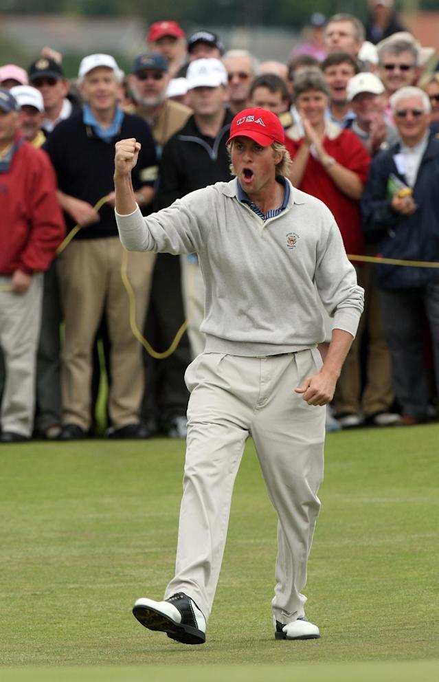 Simpson struggled in his one Walker Cup appearance, going 0-2 at Royal County Down.