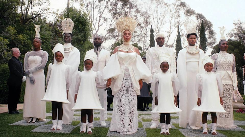 beyonce white chess black is king