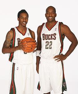 Michael Redd has two words of advice for Bucks rookie guard Brandon Jennings as he deals with the national spotlight: Stay humble