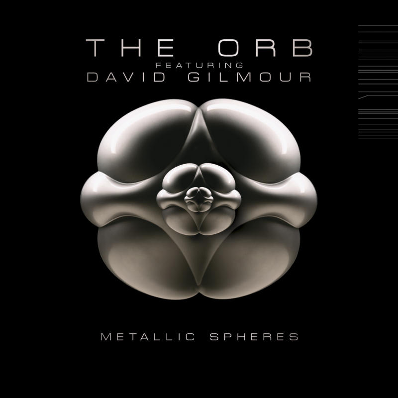 "In this CD cover image released by Columbia Records, the latest release by The Orb featuring David Gilmour ""Metallic Spheres,"" is shown. (AP Photo/Columbia Records)"