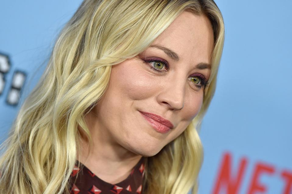 Kaley Cuoco shared the death of her dog Norman. (Photo: Axelle/Bauer-Griffin/FilmMagic)