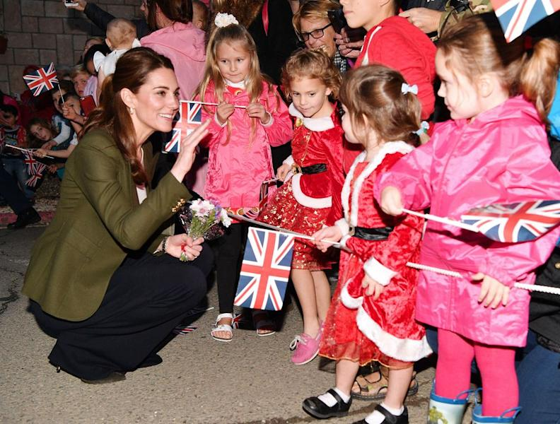 Kate Middleton Reveals Louis' New Milestone
