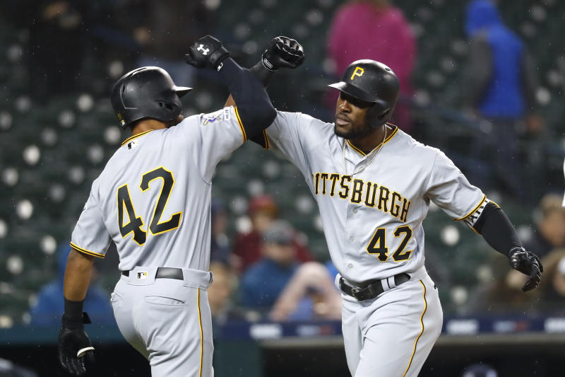 Marte's homer in 10th inning lifts Pirates over Tigers 5-3